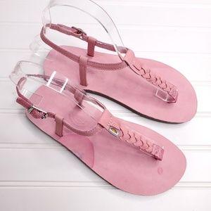 Kids Size 4//5 NWT Dark Brown RAINBOW SANDALS Kids Premier Leather Sandals